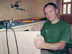 Hodinový manžel a řemeslník Jan Meloun, Praha